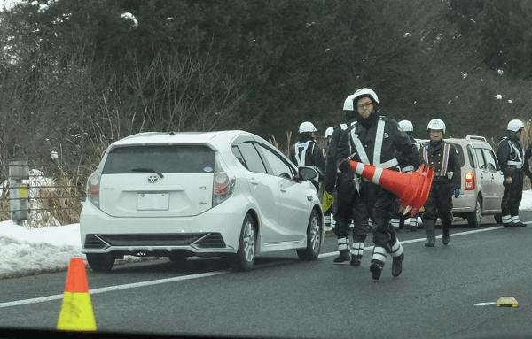東北道で煽り運転し小山内正樹容疑者が逮捕された現場画像
