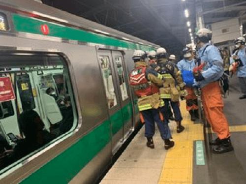 埼京線・戸田公園駅で人身事故の現場画像