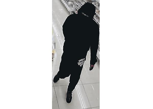 多賀城市笠神のセブンで強盗に入った犯人の画像