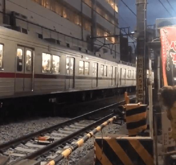 下赤塚駅で人身事故が起きた現場画像