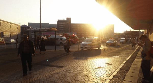 埼京線の北戸田駅で人身事故が起きた現場画像