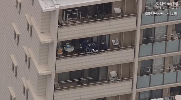 吹田市垂水町で3歳児が9階から転落死 母親外出中にベランダから転落