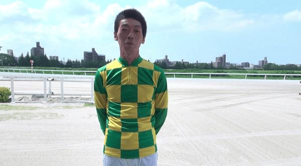 加藤利征騎手の顔写真の画像