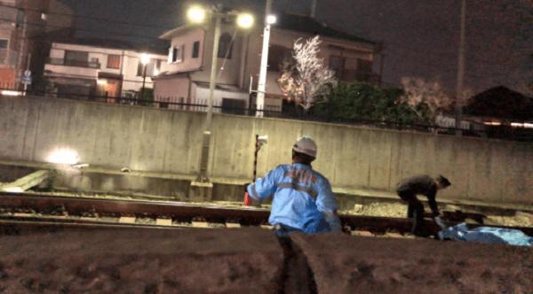 人身事故 阪急 塚口