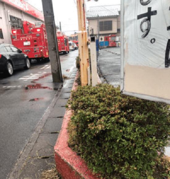 東武スカイツリーラインの北越谷駅~大袋駅間の人身事故の現場画像