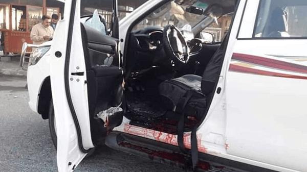 中村哲医師らが襲撃され際に乗っていた車の画像