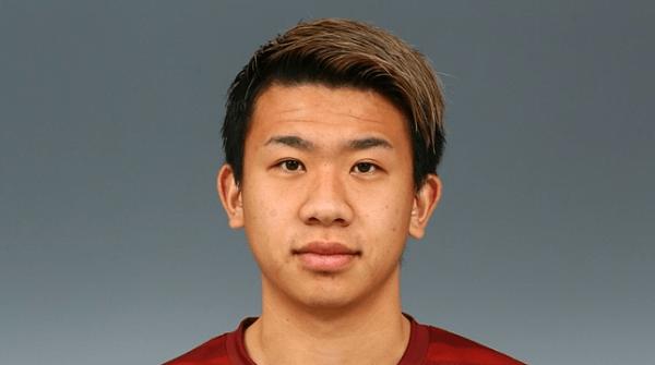 初瀬亮選手の顔写真の画像