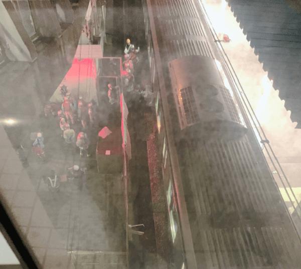 京浜東北線の新子安駅で人身事故が発生した現場の画像