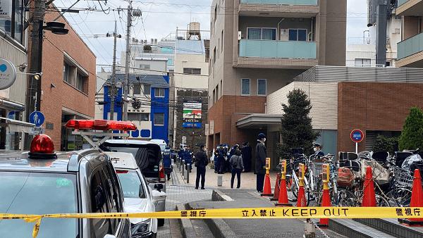 武蔵野市吉祥寺本町で殺人事件が起きた現場の画像