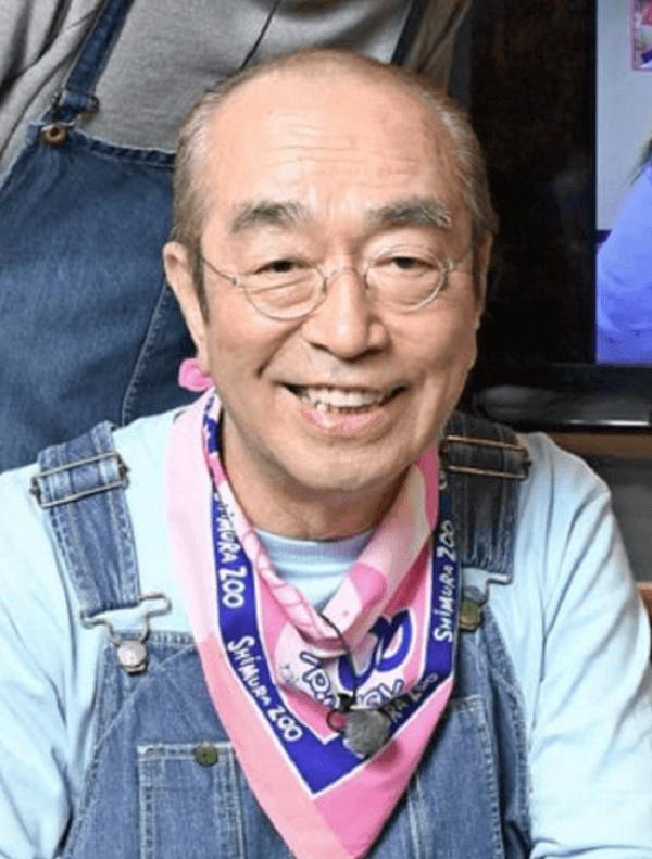 志村けんさんの顔写真の画像