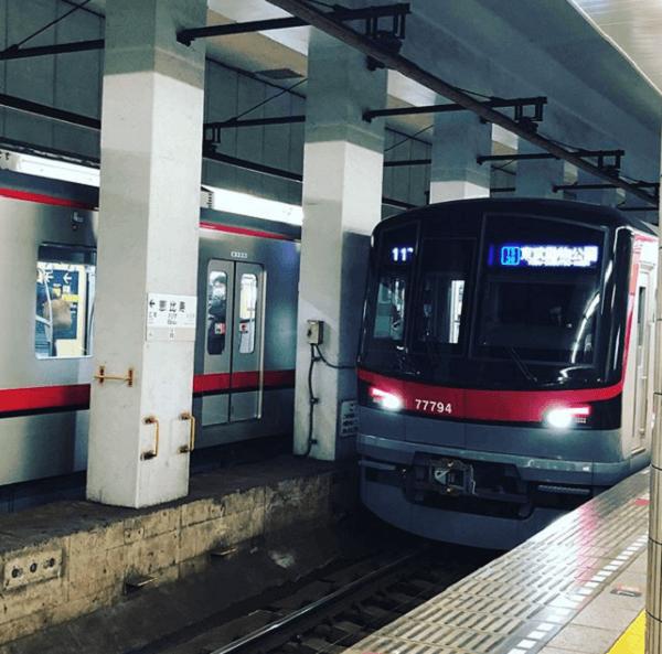 恵比寿駅で人身事故が発生した現場の画像
