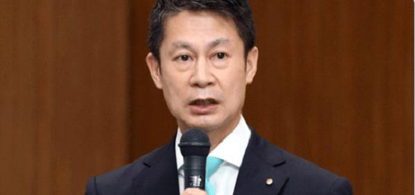 湯崎知事の顔写真の画像
