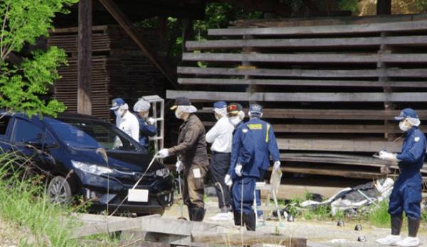 名張市に父親と2歳の娘の遺体のニュースのキャプチャ画像