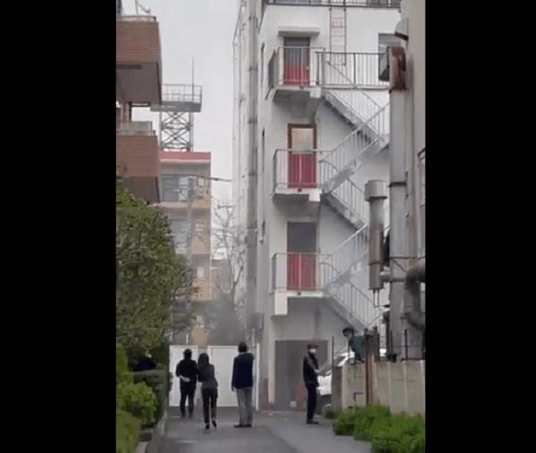 大田区久が原2丁目の日本テクノ爆発事故の現場画像