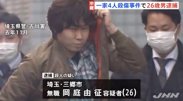 過去に岡庭由征容疑者が逮捕されたニュースの画像