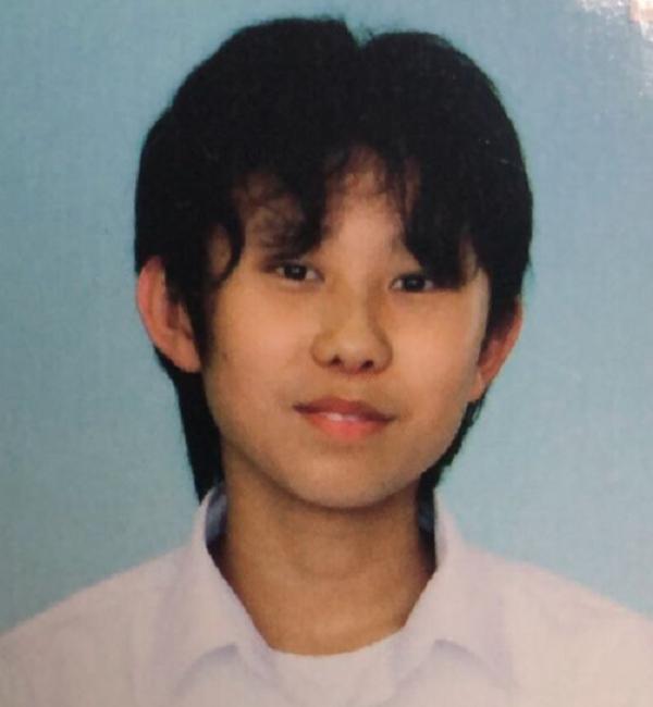 岡庭由征の中学生時代の顔写真の画像