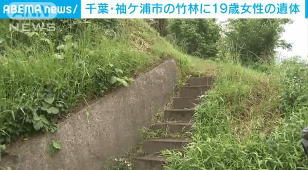 袖ケ浦市蔵波の中込愛美さん殺人事件のニュースのキャプチャ画像